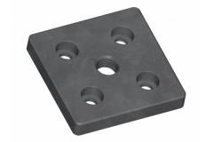 Fußplatte 8 80x80 M16